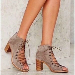 Anthropologie Jeffery Campbell Cors Bootie